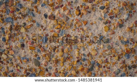 Pebbles Background / Pebble stone texture