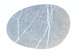 Pebbles, isolated on white background