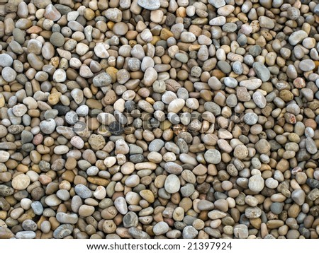 Pebbles pattern usable for texture or background.