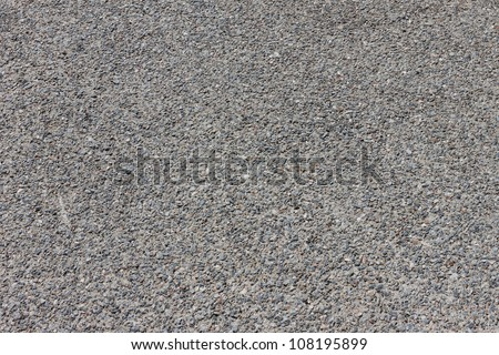 Pebbles stone road texture background