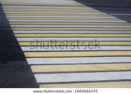 Pedestrian crossing (Zebra crossing) on road #1464666545