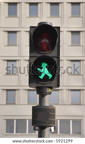 Pedestrian's traffic-light