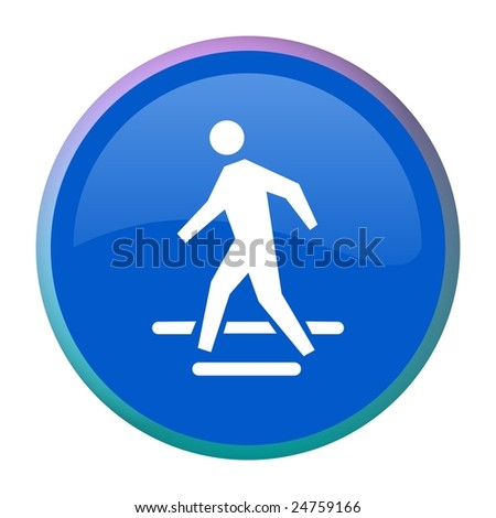Pedestrian web button