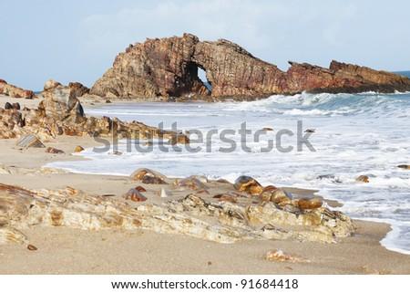 Pedra Furada in Jericoacoara Brasil