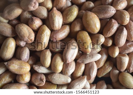 Peeled Peanuts background. Groundnut Images