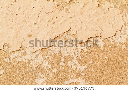 Pale Orange Paint free old concrete wall texture of dry paint peel background photos