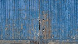 peeling wooden door as background