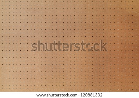 Peg board with large area, shot square to image dimension. Stock photo ©