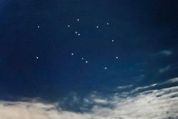 Pegasus star constellation, Night sky, Cluster of stars, Deep space, Winged Horseconstellation