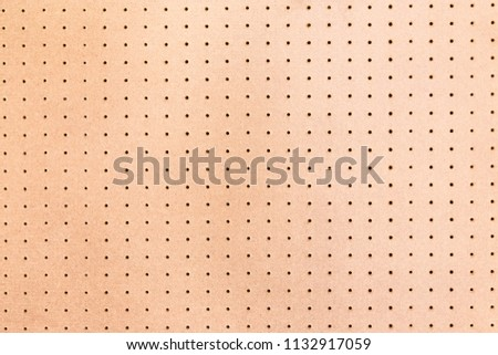 pegboard background texture. Stock photo ©