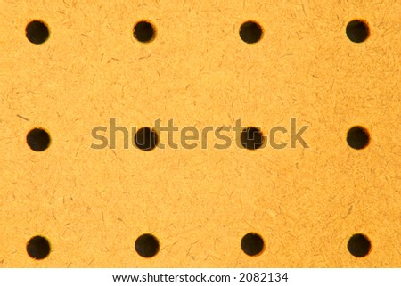 pegboard upclose