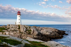 peggy's Cove and the Lighthouse are a must see but this beautiful morning was unbelieveable