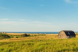PEI rural scene (Central Coastal Drive, Prince Edward Island, Canada)