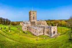 Pembrokeshite, Wales, UK: Saint David's Cathedral