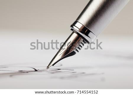 Pen. - Shutterstock ID 714554152