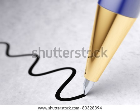 pen - stock photo