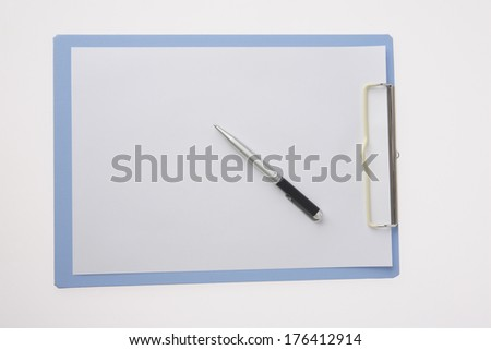Pen and binder #176412914