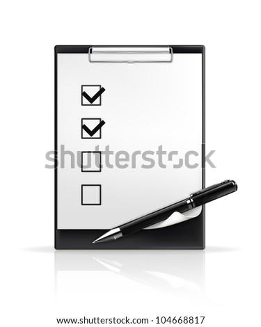 Pen and check boxes, bitmap copy