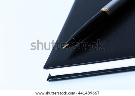 Pen and notebook #441489667
