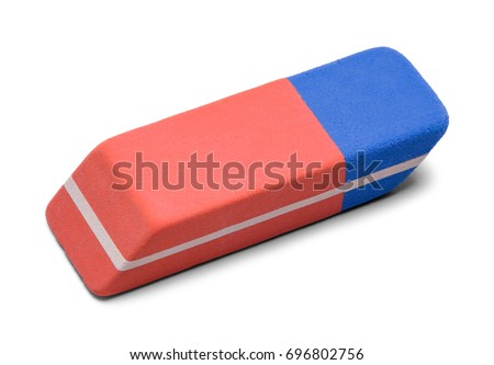 Pen Ink Eraser Isolated On White Background. - Shutterstock ID 696802756