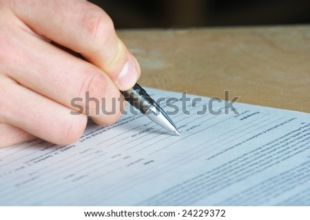 pen work hand work, signature