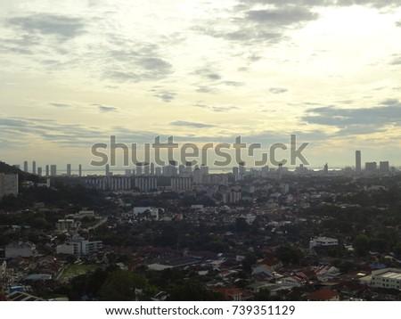 Penang city #739351129