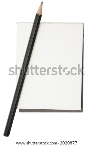 Pencil and Notepad #2020877