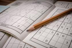 Pencil and sudoku crosswords.