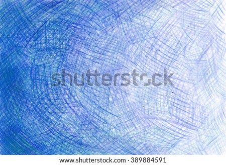pencil background touches blue