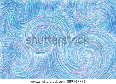 pencil background waves blue