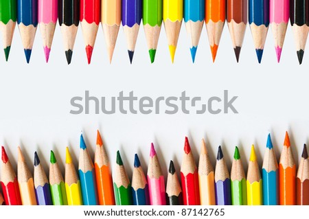 Pencil, colored background, Textures