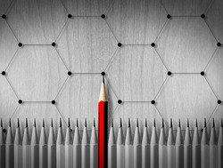 Pencil concept business planning
