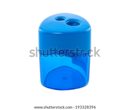Pencil sharpener on white background #193328396