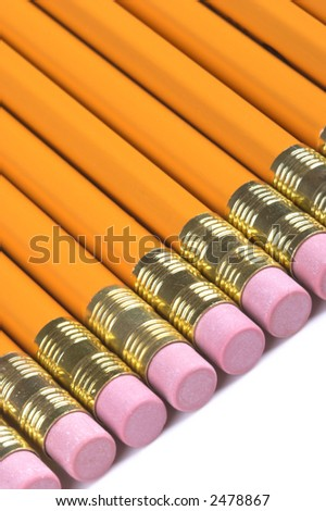 Pencils, isolated on white