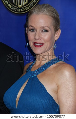 Penelope Ann Miller at the American Society Of Cinematographers 26th Annual Outstanding Achievement Awards, Grand Ballroom, Hollywood, CA 02-12-12
