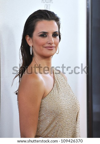 """Penelope Cruz at the LA Film Festival premiere of her movie """"To Rome With Love"""" at the Regal Cinemas LA Live. June 15, 2012  Los Angeles, CA Picture: Paul Smith / Featureflash"""