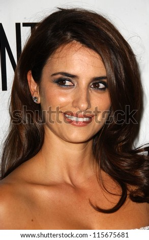 Penelope Cruz at the Los Angeles Confidential Magazine's Party Honoring Penelope Cruz's Golden Globe Nomination. Whiskey Blue, Westwood, CA. 01-13-07