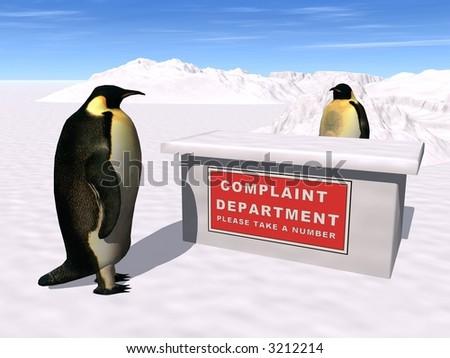 Penguin Complaints Department