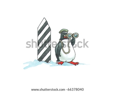 Penguin the frontier guard