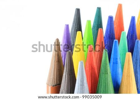 Pens detail - stock photo