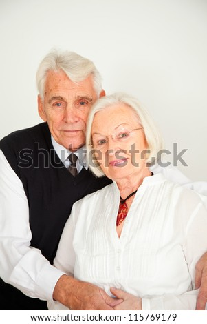 pensioner couple