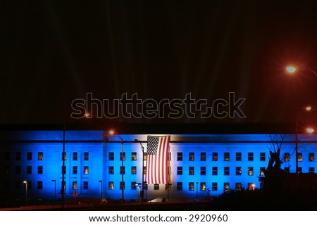 Pentagon Building in Washington DC