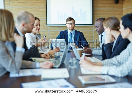 People at board room