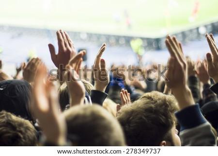 People at stadium #278349737