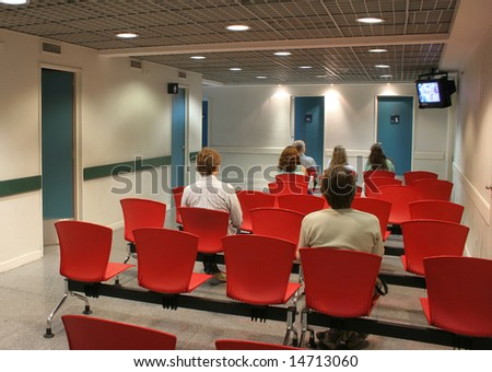People at the waiting room