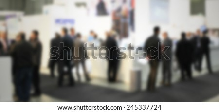 People banner background.Intentionally blurred post production.