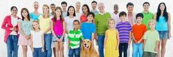People Community Diversity Crowd Concept