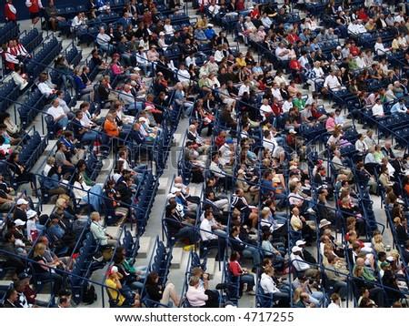 people crowd in arena stadium