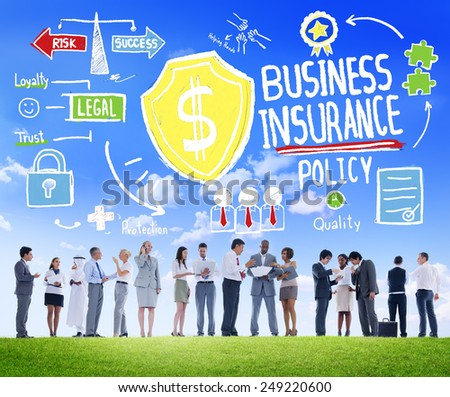 People Discussion Meeting Safety Risk Business Insurance Concept
