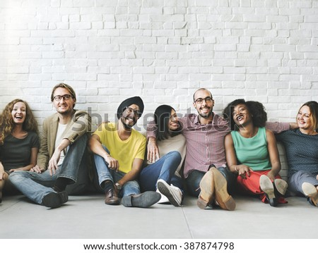 People Diversity Friends Friendship Happiness Concept Stock photo ©